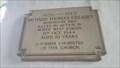 Image for Richard Thomas Creasey memorial plaque - St Peter's church - Henley, Suffolk