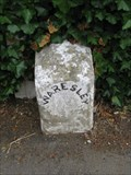 Image for Gamlingay Road Milestone - Waresley, Cambridgeshire, UK