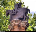 Image for Sculpture on Knights Templar Column - Inner Temple (London)