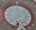 Image for Stained Glass Window above the door-St. Louis Parish Chapel - Clarksville MD