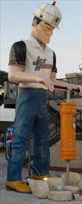 Image for The Joliet Jackhammers' Mascot @ Silver Cross Field - (Legacy Waymark) Joliet, IL