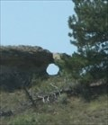 Image for Mushroom Rock Arch -- E of Custer MT