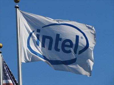 Intel Corporation Flag, Santa Clara, CA