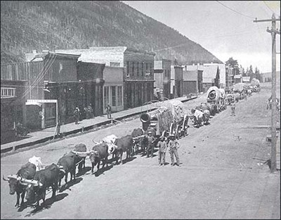 In 1887, three years before the railroad arrived in Telluride, Dave Wood