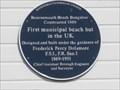 Image for FIRST - Municipal Beach Hut - Bournemouth, Dorset, UK