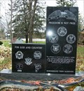 Image for For God and Country - Veteran memorial - Rudolph, WI