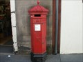 Image for Hexagon Post Box - Canongate Road,  Edinburgh, Scotland