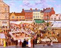 "Image for ""Knaresborough Market"" by Joseph Baker Fountain – Market Square, Knaresborough, N Yorks, UK"