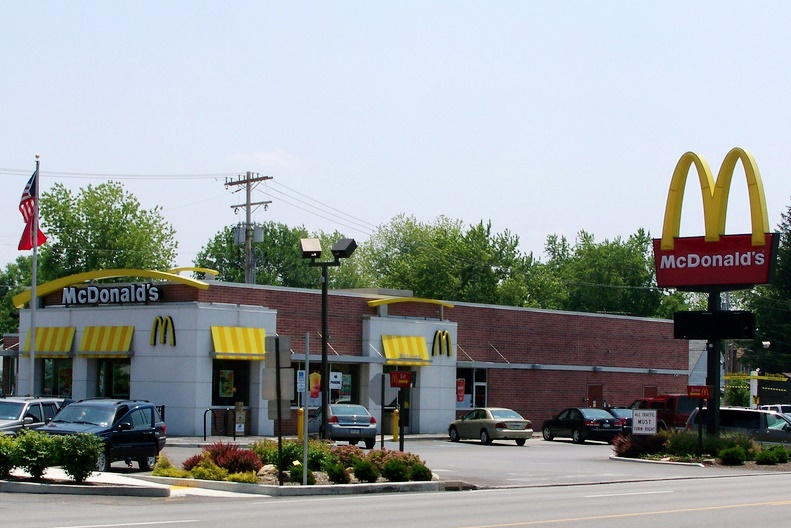Mcdonald S 1218 I 99 Exit 32 Altoona Pennsylvania