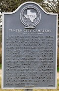 Image for Center City Cemetery