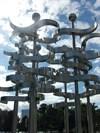 Union - Kinetic Sculpture - Lake Eola Park, Orlando.