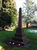 Image for St Lawrence War Memorial - Little Wenlock, Telford, Shropshire
