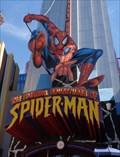 Image for Spiderman - Satellite Oddity - Orlando, Florida, USA.