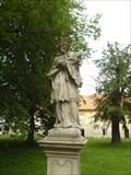 Image for Socha sv. Jana Nepomuckého - Rajhrad, Czech Republic