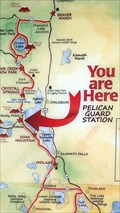 Image for Pelican Guard Station 'You Are Here' Map - Klamath County, OR