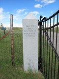 Image for Augusta Cemetery - WWI Memorial - Augusta, Montana
