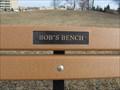Image for Bob's Bench - Winnipeg, Manitoba