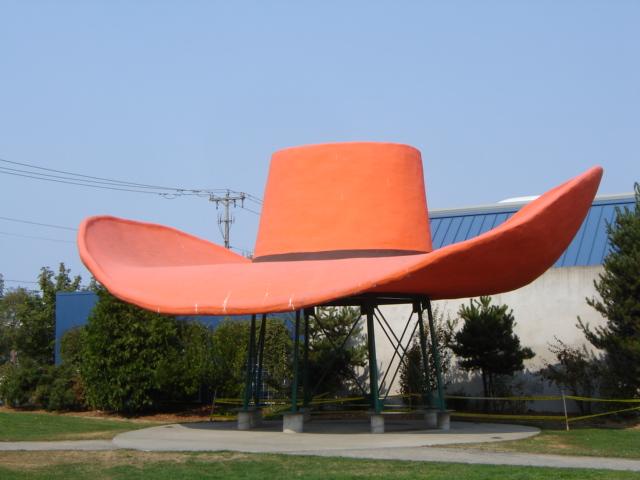 Largest Cowboy Hat World's Largest Cowboy Hat