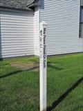Image for First United Methodist Peace Pole - Fairbanks, Alaska