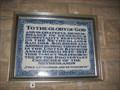 Image for Dutch Memorial Plaque - St Mary's Church -Cardington - Bed's