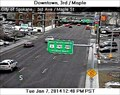 Image for Third Avenue at Maple Street Webcam - Spokane, WA