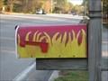 Image for Fire Station 51 Flames Mailbox - Jacksonville, FL