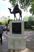 Image for Imperial Camel Corps Memorial -- Victoria Embankment, City of Westminster, London, UK