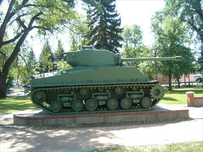 Sherman Tank - Medicine Hat, Alberta - Military Ground Equipment ...