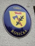 Image for Znak obce - Rosicka, Czech Republic