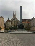 Image for Obelisk Emauzy, Prague, CZ