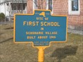 Image for Site of First School