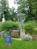 Image for Garden Roller Man, Leominster, Herefordshire, England