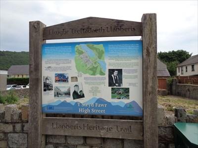 Heritage Trail - Y Strad Fawr - Llanberis