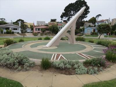 Entrada Court Sundial, San Francisco, CA
