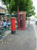 Image for Red Telephone Box, Bourton on the Water, Gloucestershire, England