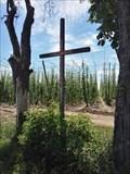 Image for Wooden Christian Cross - Kounov, Czechia