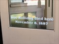 Image for Death Spot of Doc Holliday - Glenwood Springs, CO