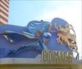 Image for Giant Storm Character - Orlando, Florida, USA.