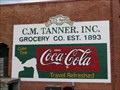Image for Coca Cola sign - C. M. Tanner Grocery Bldg - Carrollton, GA