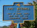 Image for First Watermill, Water Mill, Long Island, New York