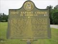 Image for First Baptist Church in Georgia - Appling, Georgia