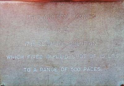 Castle Hill Cannon - Tenby