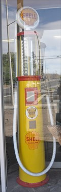 Image for Shell Vintage Gas Pump ~ Kingman, Arizona