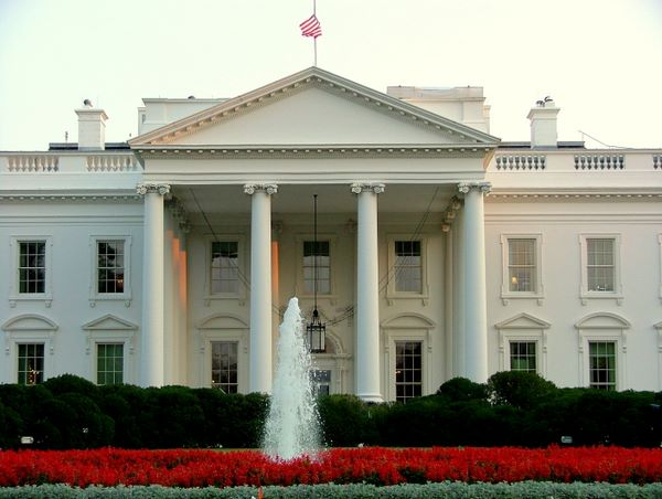 When was the white house built in washington dc house for Building a house in washington state