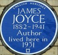 Image for James Joyce - Campden Grove, London, UK