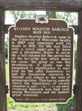 Image for Stephen Moulton Babcock 1843-1931 Historical Marker