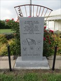 Image for Ross-Point Community Club Veterans Memorial - Rosston, TX