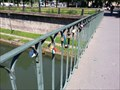 Image for Love Padlocks at Passerelle des Juifs - Strasbourg, France, Alsace