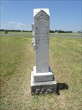 Image for FIRST Burial in Elm Grove Cemetery - Roddy, TX