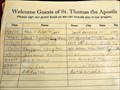 Image for St. Thomas the Apostle Church Guest Book - Coeur d'Alene, ID